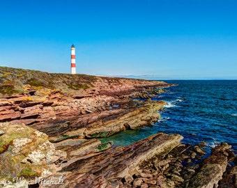 Digital Download,Tarbat Ness Lighthouse,Scotland,Fine Art Photography