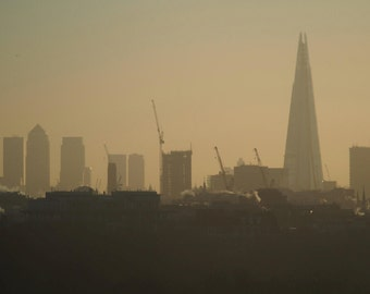 London Skyline at Sunrise