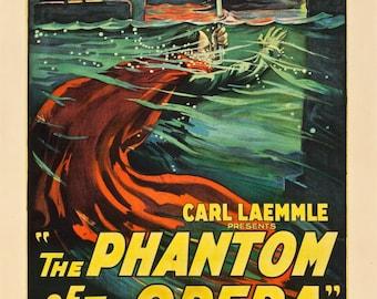 Phantom of the opera movie poster 11x17