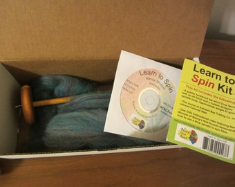 Learn to Spin Kit by Nancy's Knit Knacks