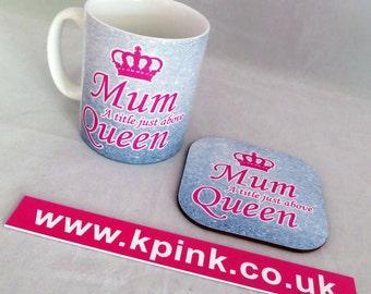 Mum Queen Mug & Coaster