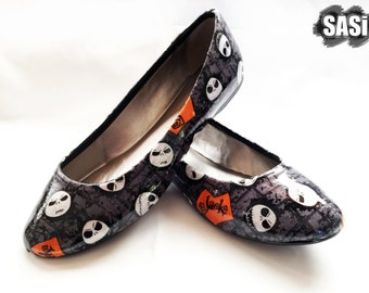Jack Skellington Nightmare Before Christmas Shoes