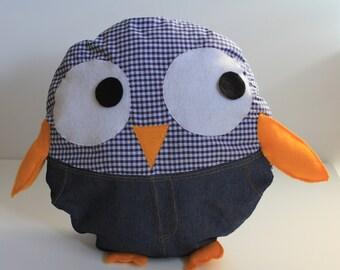 Blue Tweety Bird Animal Cushion