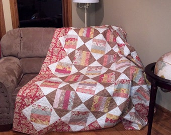 Spinning Wheels Quilt-Pattern-Sewing- Moderated