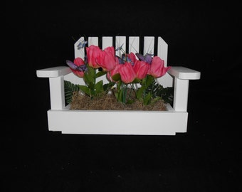 BeesFlowerBoxBenches