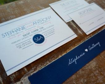 Nautical Themed Wedding Invitations Deposit