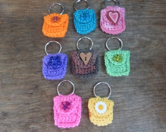 Coin Purse on Key Ring
