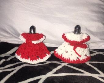 Crochet Salt Shaker Dresses