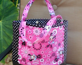 Minnie Mouse Diaper Bag Tote, Minnie Mouse Baby Bag, Minnie Tote, Minnie Diaper Bag, Minnie Mouse Tote Bag, Minnie Mouse Carry All Bag Purse