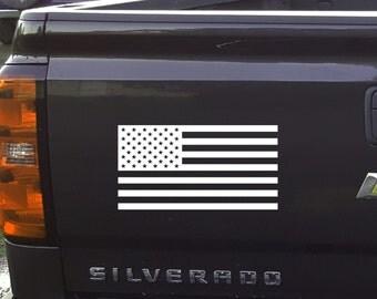 American Flag Decal, American Flag, Car decal, Vinyl Decal, Flag, American