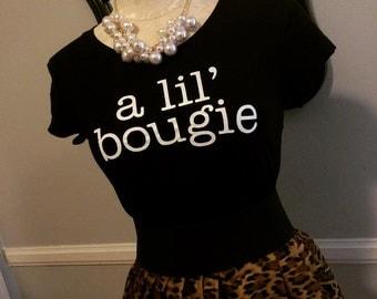 A Lil' Bougie Women's Short Sleeve Tee