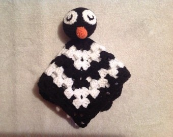 Penguin Lovey Blanket