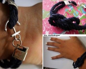 Anchor Knotted Bracelet