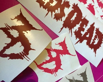 ZEDS DEAD vinyl decal pack! SINGLES listed here too!