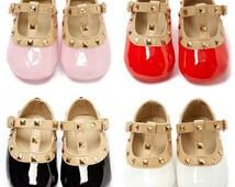 Baby Infant Rockstud Crib Shoes