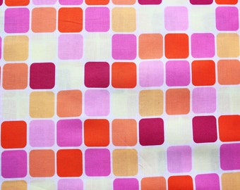 ON SALE 40% OFF Michael Miller Fabrics Glass Tiles Sanctuary Cotton Craft Half Metre Designer Pattern Pink