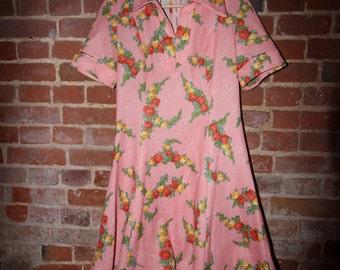 Pretty Pink Tea Dress