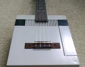 Electric Nintendo Cigar Box Style Concert Ukulele