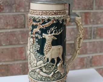 German beer steins collection