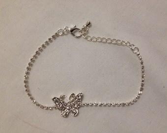 Butterfly Bracelet Bridesmaid Flower Girl