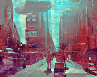NEWYORK COLOR XXV by Sven Pfrommer - 130x100cm Artwork is ready to hang.