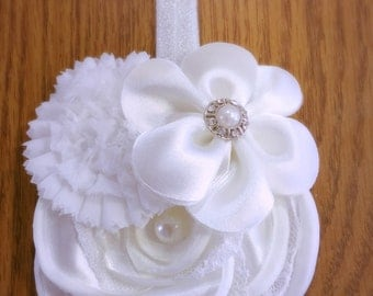 Couture Flower Bridal Headband