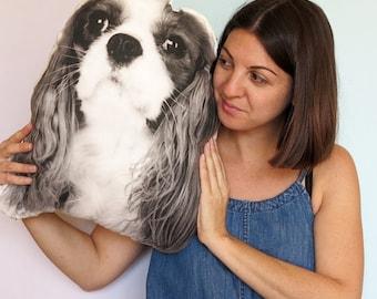 Custom Cushion - Your Pet's Face, Cat, Dog, Personalized, Pet Cushion, Cat Pillow, Dog Pillow, Photo Pillow, Customised pillow