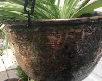 Turkish hanging planter