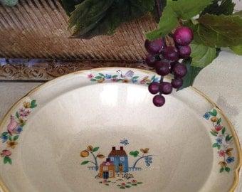 Vintage Heartland International Stoneware Dinnerware -- Vegetable Serving Bowl