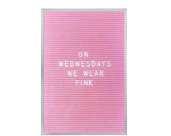 "12"" x 18"" Letter Board - Pink"