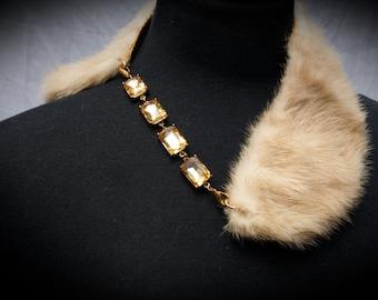 Rabbit Fur necklace