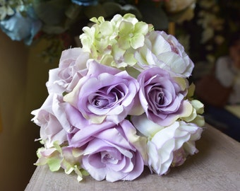 Sweet Posy Bunch in mauve -ITEM005
