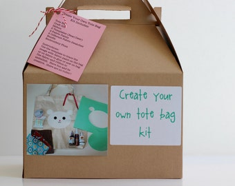 Tote Bag Kit for Girls