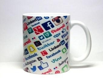 Social Media Mug New*
