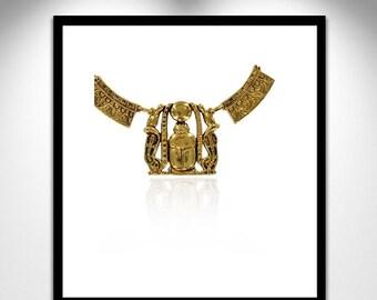 Pectoral Necklace Egyptian Sheshonq _ Collier Égyptien Pectoral Sheshong