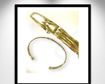 Gold Bracelet Atlante - Man _ Bracelet gold - man Atlante