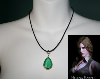 Helena Harper Resident evil 6 cosplay Necklace-Costume peice