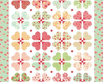 Darling Blossoms PDF Quilt Pattern by Mountain Rose Designs