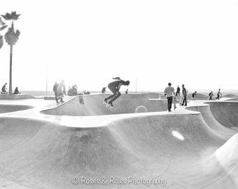 Venice Beach Skate Park Print