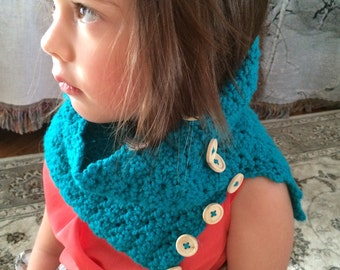 Toddler cowl neck warmer