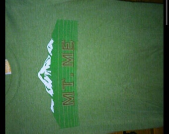 Funny Vintage green T-Shirt size SM