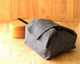 Japanese style bento bag exclude lunch box / Japan cotton fabric/ Lunch bag for women/ Insulated lunch bag.