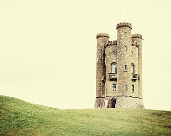 Country Castle - Broadway Tower, Cotswolds Photography - Fine Art Photo Print - English Castle - England - UK - Travel photo