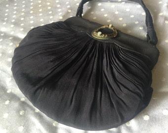 Vintage Silk Evening Bag
