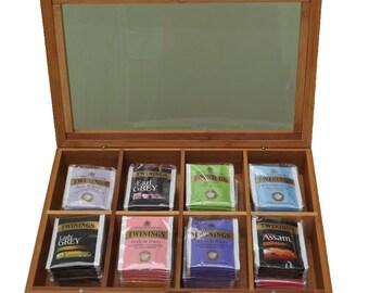 Tea Box Gift Set (80 Tea Bag Sachets)