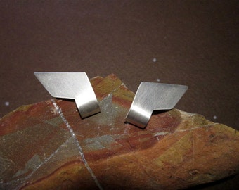 square earrings, geometric earrings, simple earrings, big earrings, earrings, Silver earrings, cheap earrings minimal
