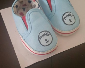 Custom Dr.Suess shoes
