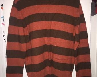 Paul Frank Striped Sweater (SIZE L)