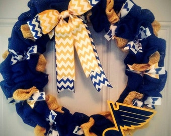 St. Louis Blues Wreath