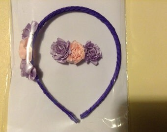 Headband and barrette set